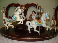I have 12 carousel horse figures from the Franklin Mint