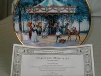 CAROUSEL is the first collector's plate officially