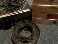 Kodak Carousel Projector for sale. Works and comes with