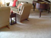 Living space Carpet (approx. 600 sq. ft with pad) that