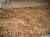 Have for sale 4 sections of carpet for sale. Dimensions