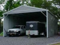 (18X21X8 Boxed Eave style enclosure with extra bracing,