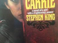 "Author : Stephen King ""A Novel Of A Girl With A"