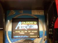 100% functional Carrier Airwing arcade machine. Made by