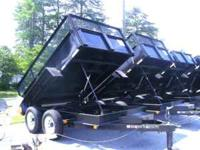 ***Several NEW Hydraulic Dump Trailers to Choose