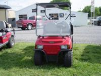 2014 Club Car Carryall 242 Gas Dump Bed Kawasaki