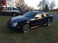 2002 Mercedes CLK 430 AMG. 4K invested in tires and