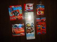 Cars stuff - all new Puzzle $3.00 Rain Poncho $5.00