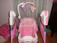 A nice and clean carseat with base and matching