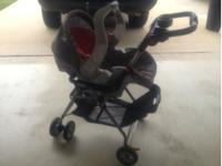 I have a stroller carseat with base and stroller