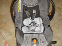 "ALMOST BRAND NEW CARSEAT BY ""CHICCO""KEYFIT30 UP TO 30"