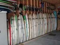 I have about 165 used short boards for sale this week.
