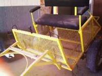 Single horse cart in excellent condition. Barn stored