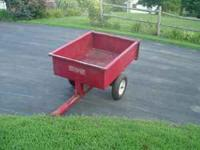 Used dump cart for lawn & garden tractor. phone