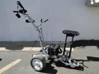 Cart Tek RobotJet MC101R Remote Control Golf Caddie Bag