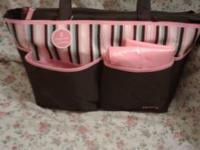 -8 POCKET ORGANIZER -CHANGING PAD -BEAUTIFUL MULTI