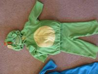 Like new, wonderful baby boy Carters Dinosaur costume
