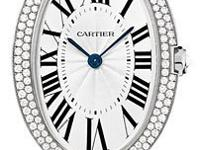 This Cartier Baignoire Womens Watch, WB520009 features