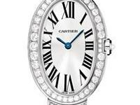 This Cartier Baignoire Womens Watch, WB520011 features