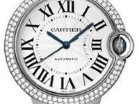 Cartier Ballon Bleu in 18K White Gold, 2 Rows of