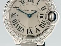 Previously owned Cartier Ballon Bleu woman's watch,