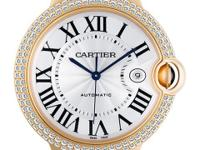 Gents Cartier Ballon Bleu in 18k rose gold with a