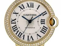 This is a Cartier, Ballon Bleu Yellow Gold Diamond