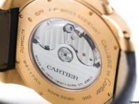 Never-Worn Calibre De Cartier Timepiece crafted in 18