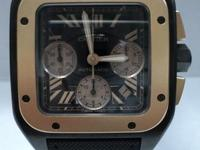 This is a Cartier, Calibre Extra Large Chronograph