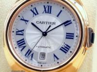 Cartier Cle De Cartier WGCL0002 Men's 40mm 18k Rose