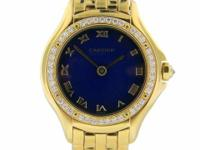 Genuine pre-owned Ladies Cartier Cougar 18K yellow gold