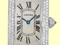 silver/ivory dial with black roman numerals, blued