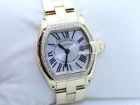 CARTIER LADIES RODSTER 2676 IN 18K YELLOW GOLD FACOTRY