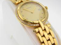 Genuine pre-owned Cartier Round Panthere VLC 18K yellow