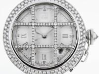 This is a Cartier, Pasha 38mm 18k White Gold Factory