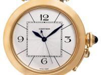 Gents Cartier pasha 42mm in 18k rose gold on a