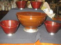 The Market at Manayunk   Genuine Mahogany with Pewter