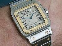 Selling my: Cartier Santos de Cartier Galbe Watch.