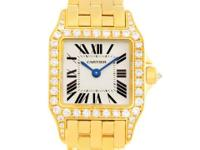 Case: 18K yellow gold case 28.25 x 21.65
