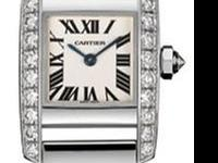 18kt white gold case and bracelet. 22 diamonds bezel.