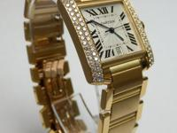 This Tank Francaise by Cartier with its modern design