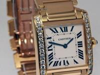 Cartier Tank Francaise Midsize 18k Yellow Gold &