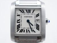 Description Selling a genuine Cartier Tank Francaise
