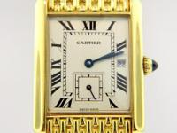Genuine pre-owned Louis Cartier Large size 18K Yellow