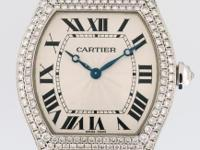 Previously owned Cartier Tortue Collection woman's