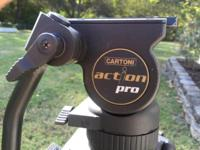 I am selling a Cartoni Action Pro Tripod. It has a 75mm
