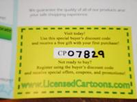 Avoid paying retail prices on Licensed Cartoon