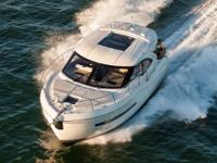 The C 37 is a cruising yacht and a performer. Twin