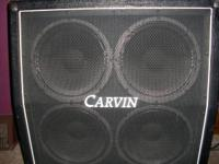 Carvin 4x12 300 watt guitar cabinet (matches MTS 3200