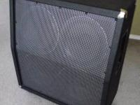 Newer design 412VT Speaker Cabinet. Loaded with 4 GT12